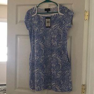 Lauren james skylar dress in blue